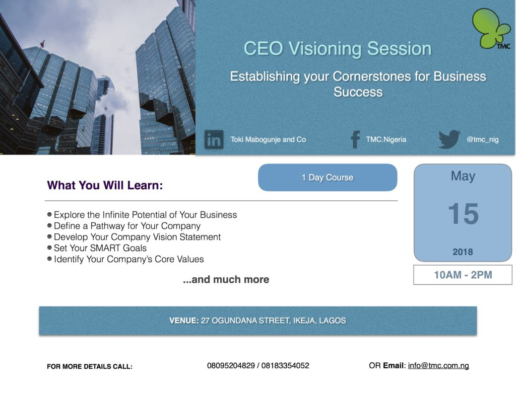 CEO Visioning Session